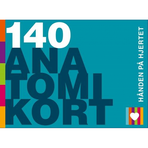 140 Anatomikort - hånden på hjertet